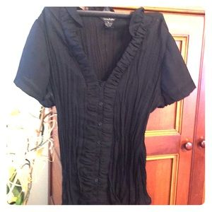 Sunny Taylor button down blouse.  NWT